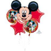 Bukiet balonów foliowych Myszka Mickey 5 szt