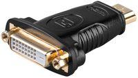 Adapter wtyk HDMI / gniazdo DVI-D 24+1