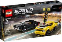 Lego Speed Champions 2018 Dodge Challenger SRT Demon oraz 1970 Dodge Charger R/T