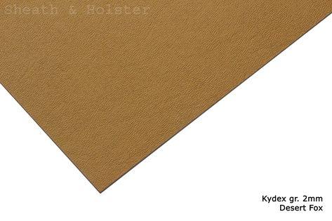 Kydex Desert Fox - 150x200mm gr. 2mm