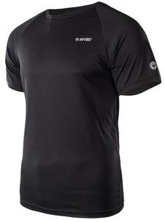 Koszulka męska Hi-Tec Makkio czarna rozmiar M