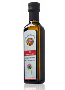 INDIA Olej z ostropestu tłoczony na zimno 250 ml