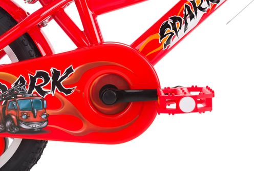 Rower 16 ROCK KIDS SPARK czerwony na Arena.pl