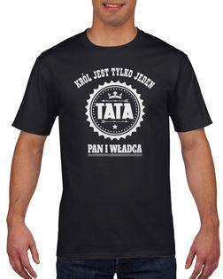 Koszulka męska TATA PAN I WLADCA c XXL