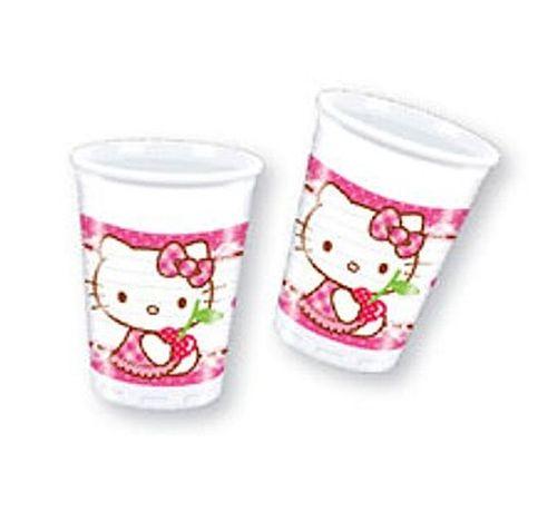 Kubeczki plastikowe Hello Kitty 8 szt na Arena.pl