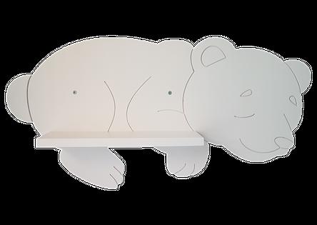 Półka śpiący Misiu Biały Miś
