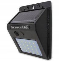 Lampa Solarna 20xLED czujnik ruchu zmierzchu