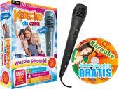 Karaoke dla Dzieci Wesołe Piosenki MIKROFON+GRATIS