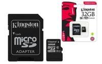 Karta pamięci microSD 32GB + Adapter KINGSTON Canvas Select