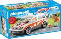 Playmobil City Life 70050 Auto ratunkowe ambulans