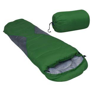 Lumarko Lekki śpiwór dziecięcy typu mumia, zielony, 670 g, 10°C!