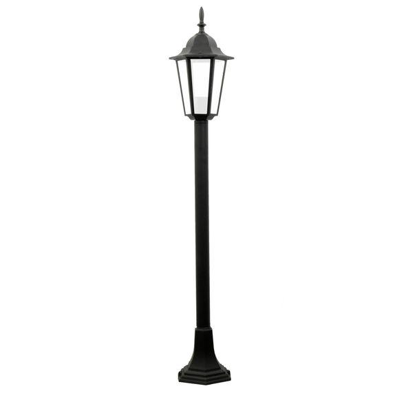 LAMPA OGRODOWA stojąca ZEWNĘTRZNA E27 ogród 100cm latarnia wysoka IP44 zdjęcie 1