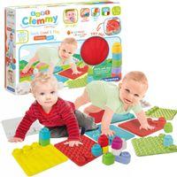 Ścieżka sensoryczna Miękka mata edukacyjna dla niemowląt klocki Clemmy