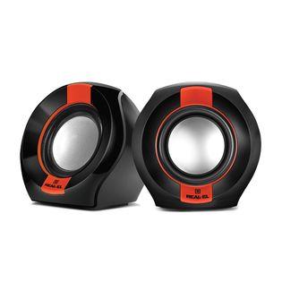 Głośniki REAL-EL S-50 black-red aktywne