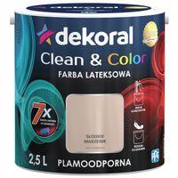 Dekoral Clean & Color 2,5L SŁODKIE MARZENIE