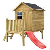 Domek ogrodowy dla dzieci 4IQ Tomek ze ślizgiem