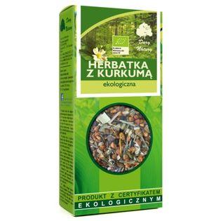 Herbatka Z Kurkumą Eko 100g Dary Natury