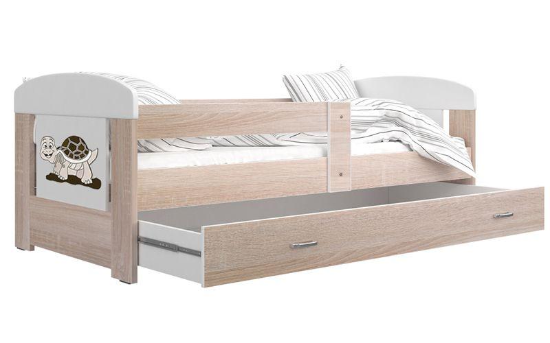 Łóżko FILIP 160x80 materac + szuflada zdjęcie 2
