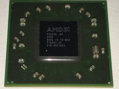 Chipset Układ ATI BGA AMD 216-0674026 09r