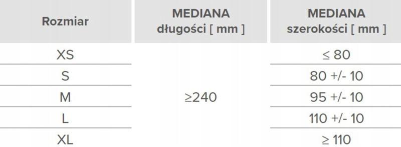 Rękawice winylowe vinylex powder-free L karton 10 x 100 na Arena.pl
