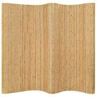 Parawan bambusowy, 250 x 195 cm, naturalny