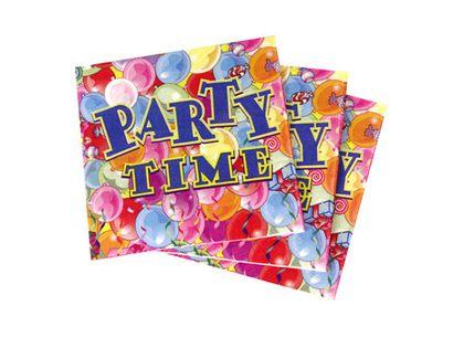 Serwetki Party Time baloniki Roczek Urodziny Party