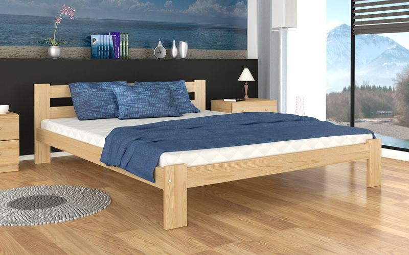 łóżko Arizona 160x200 Stelaż Materac Sypialnia