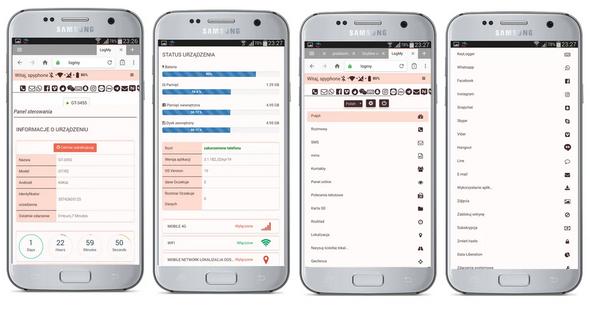 Monitoring telefonu smartfona tabletu max spyphone na żywo 17 dni
