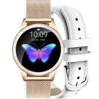 Zegarek GINO ROSSI  SMARTWATCH - złoty + biały pasek