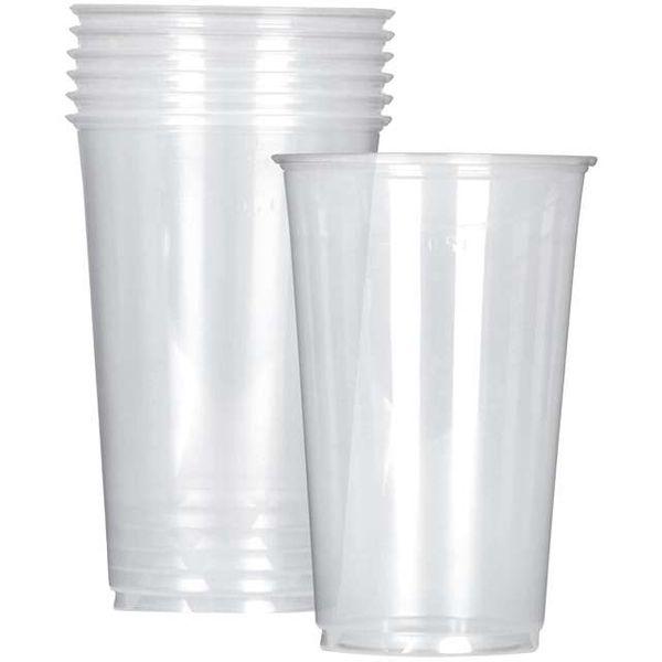 plastikowe KUFLE kubki do piwa POKALE 500 ml 6 szt zdjęcie 1