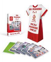 Gra Piłkarska 2w1 z Koszulka PZPN Cartamundi