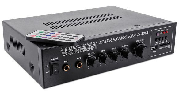 Wzmacniacz, USB, SD, Karaoke Voice Kraft VK-5016