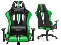 SWORD GREEN Fotel gamingowy Warrior Chairs