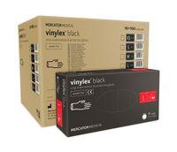 Rękawice winylowe vinylex black rozmiar L karton 10 x 100 szt