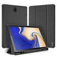 Dux Ducis Domo Składany Pokrowiec Etui Na Tablet Z Funkcją Smart Sleep Podstawka + Schowek Na Rysik Samsung Galaxy Tab S4 10.5 Czarny