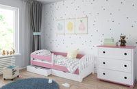 Łóżko CLASSIC 180 x 80 + DWIE SZUFLADY + MATERAC PIANKOWY GRATIS