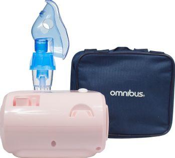 Inhalator kompresorowy nebulizator OMNIBUS BR-CN116 Pudrowy