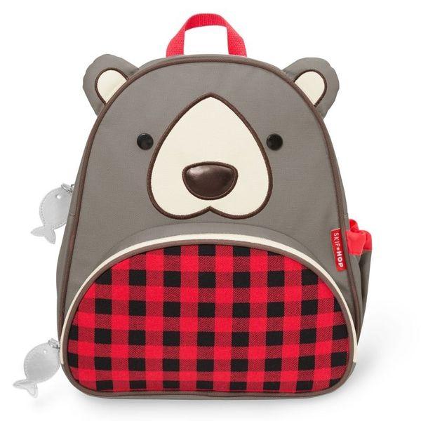 11613c263c4a6 NIEDŹWIADEK plecak dla przedszkolaka zoo SKIP HOP • Arena.pl