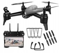 Dron SG106 Podwójna Kamer 1080P HD WiFi FPV Czarny