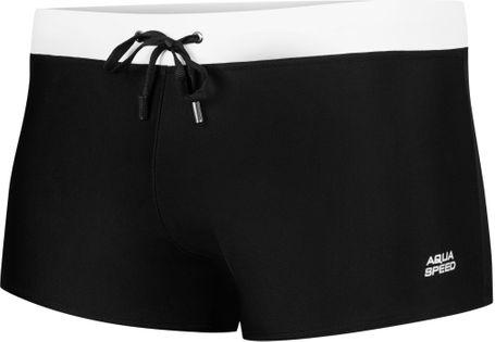 Spodenki pływackie IAN Rozmiar - Stroje męskie - M, Kolor - Ian - 01 - czarny / biały