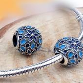 """Charms do Pandora """"Trzy Odcienie Niebieskiego"""" zdjęcie 2"""