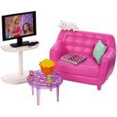 Barbie Zestaw wypoczynkowy do salonu + Akcesoria