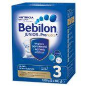Bebilon 3 Junior z Pronutra+, mleko modyfikowane powyżej 1 roku życia, 1200 g - Długi termin ważności!