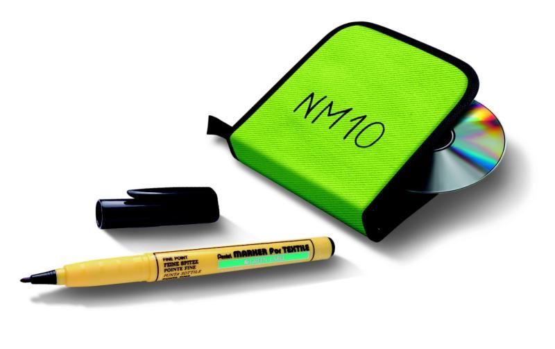 Marker do tkanin PENTEL NM10 - bez efektu rozlania zdjęcie 2