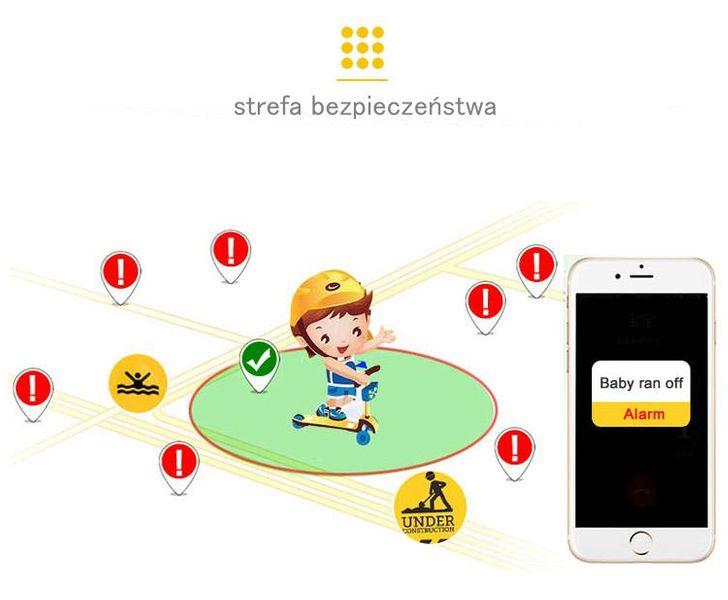 SMARTWATCH ZEGAREK dla DZIECI GPS Wodoodporny IP67 WYSYŁKA 24H na Arena.pl