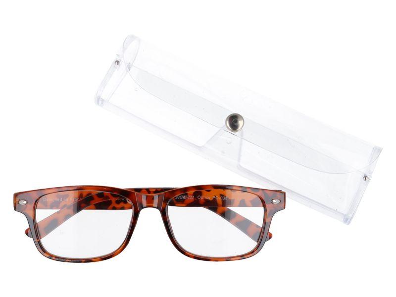 Damskie okulary korekcyjne do czytania plusy +3.50 zdjęcie 1