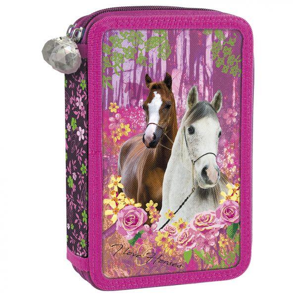 3b2898288c7ff Tornister szkolny ergonomiczny I LOVE HORSES Konie (TEMBKO15SET6CZ) zdjęcie  4
