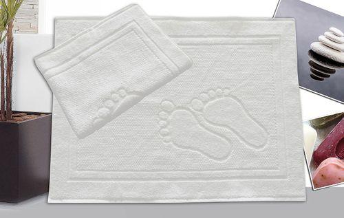 Dywanik łazienkowy Feet 50x70 stópki Greno biały na Arena.pl