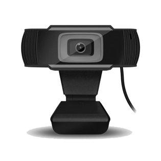 Kamera internetowa do lekcji lub pracy zdalnej FULL HD CZARNA