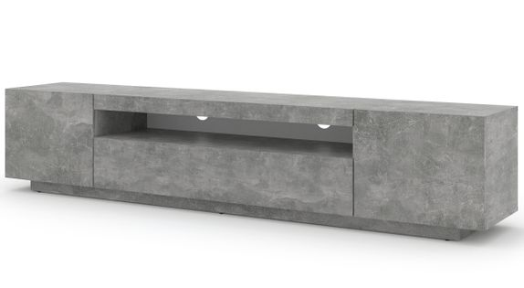 Szafka RTV AURA 200 uniwersalna wisząca beton
